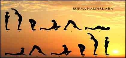 Surya Namaskar Means Greeting Or Bowing The Sun Usually All Sessions Of Yoga Asanas Begin With Salutation